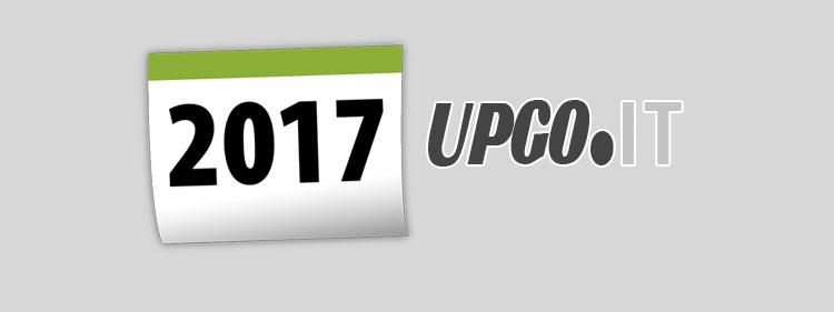 Il 2017 di UpGo.it. I nostri progetti. I nostri auguri per l' anno nuovo