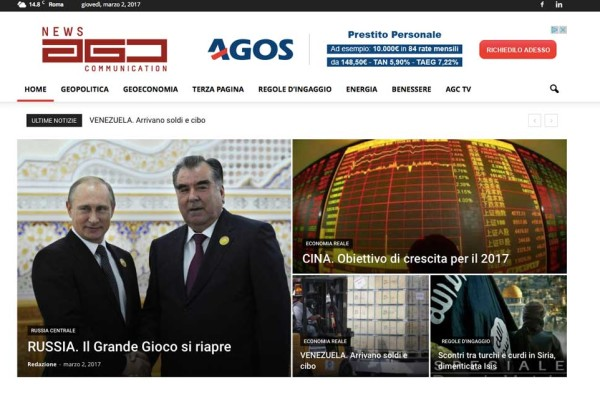 AGC NEWS UPGO