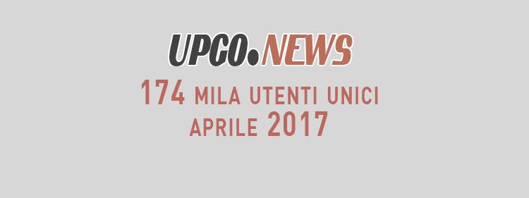UpGo News dati aprile 2017
