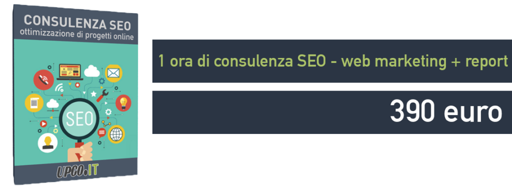 Consulenza SEO web marketing