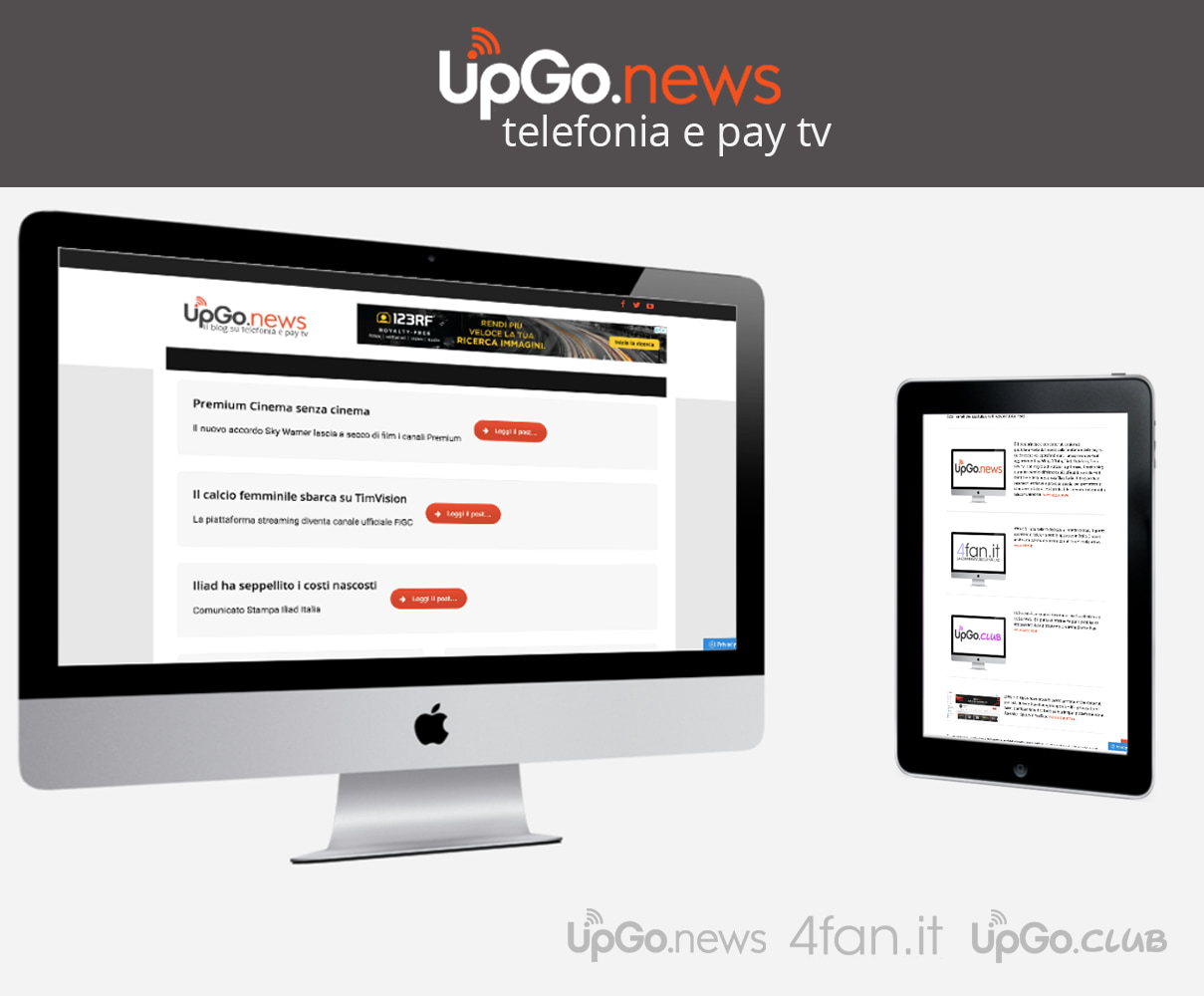UpGo.news telefonia e pay tv