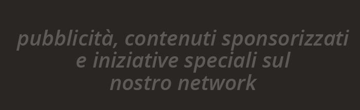 Pubblicità contenuti sponsorizzati