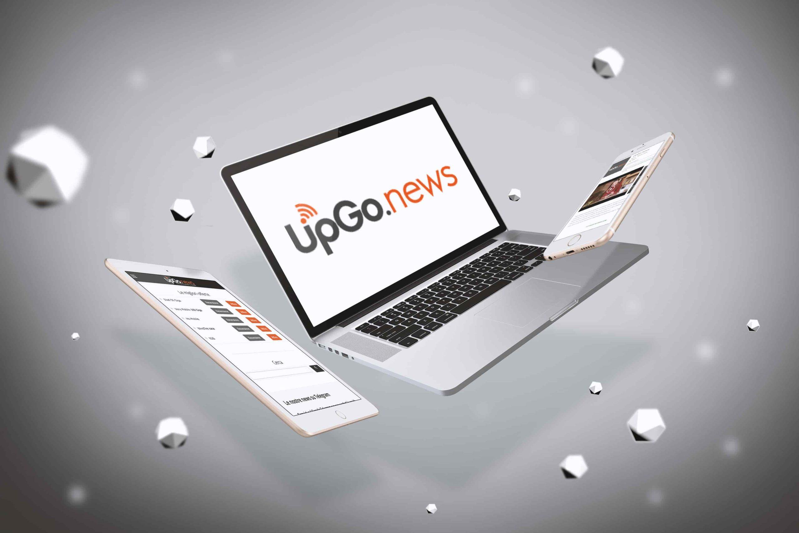 UpGo.news mokup
