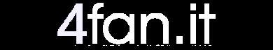 4Fan.it logo chiaro