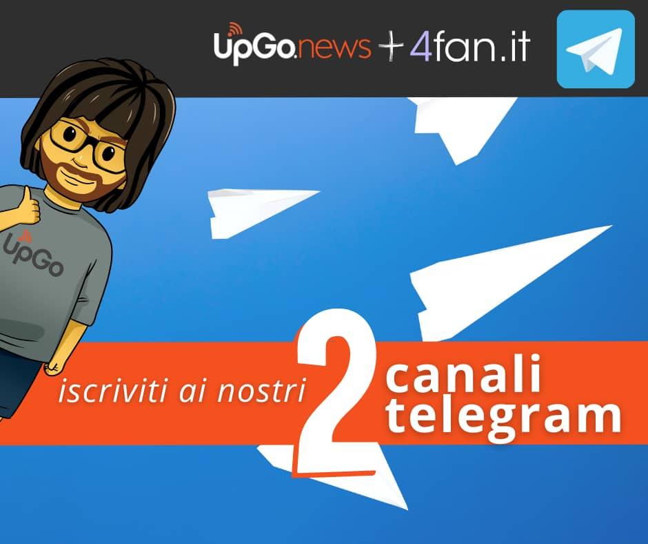Iscriviti ai nostri Canali Telegram